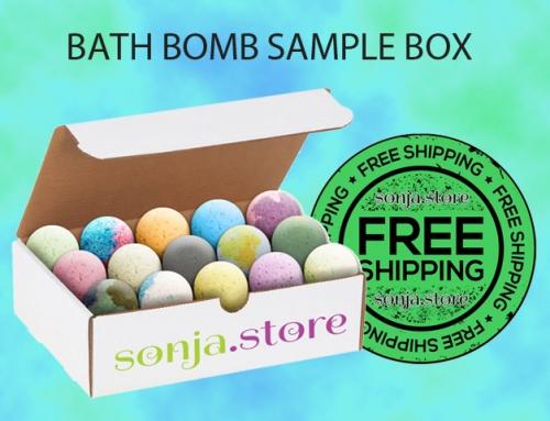 Bath Bomb Sample Box